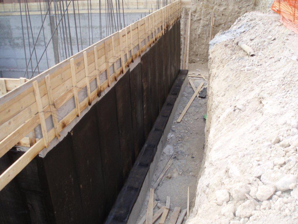 impermeabilizzazione muri controterra in cemento armato